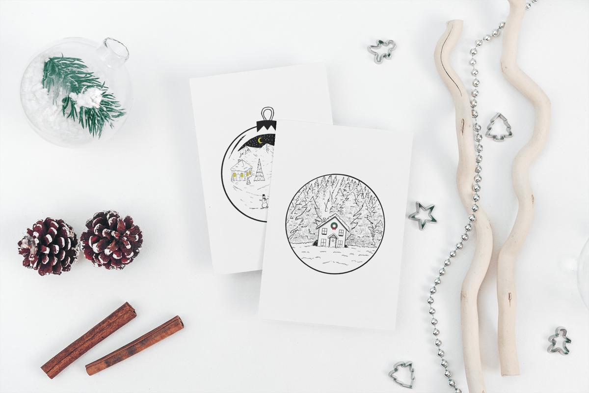 Image of Holiday Greeting Card Set