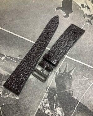 Image of Vintage Pigskin Dark Brown - Extra Thin - watch strap