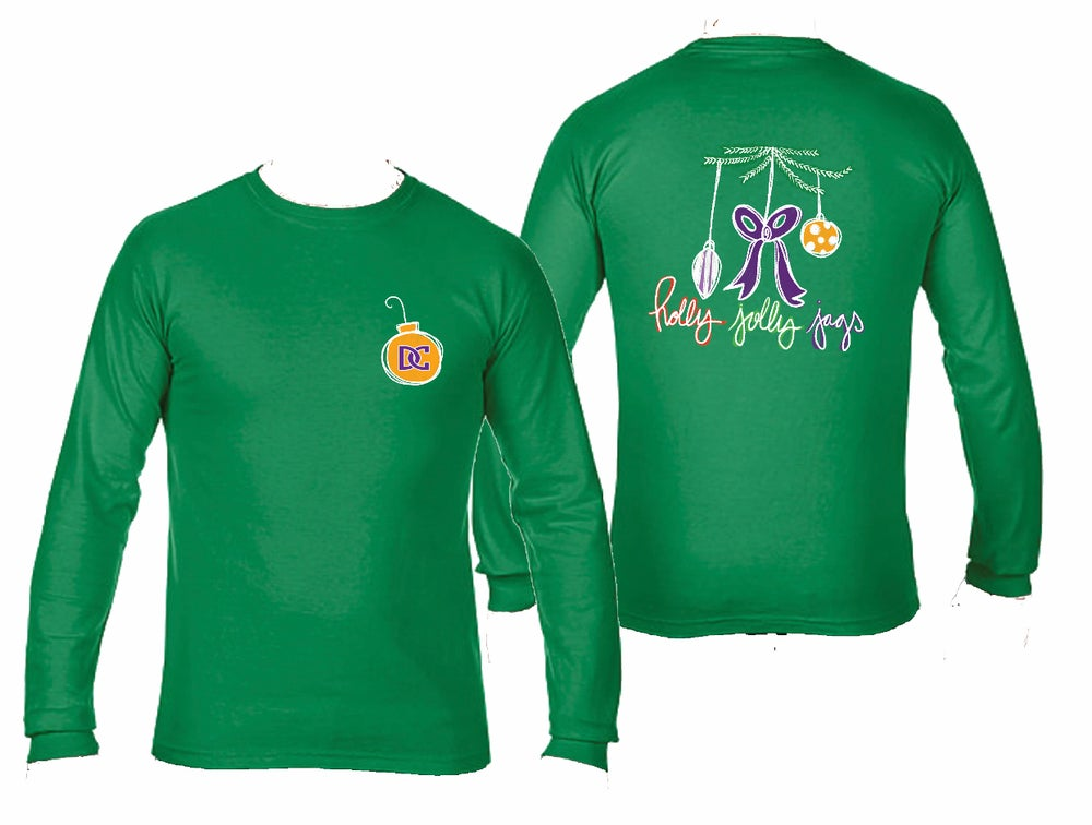 Image of Holly Jolly Jags Christmas Shirts