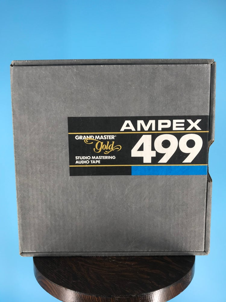 "Image of Ampex 499 2"" x 2500' Reel Tape On 10.5"" Precision Reel  in  Box One Pass-Used"