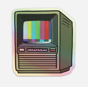 'tv test pattern' sticker