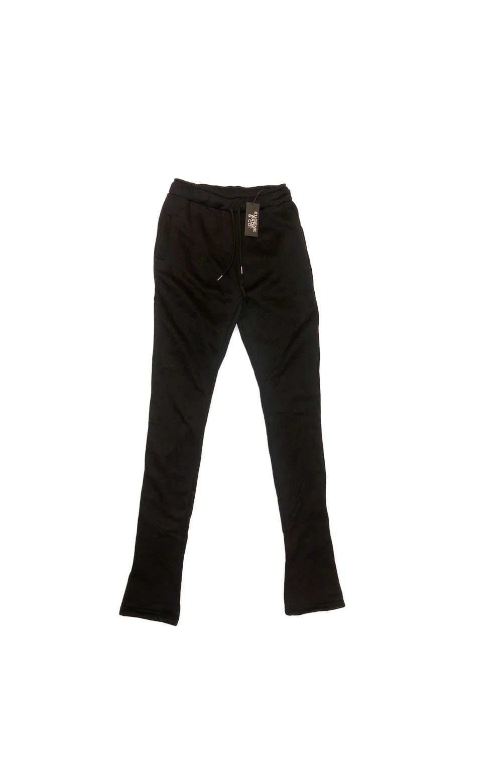 STACKED PANTS (Black)