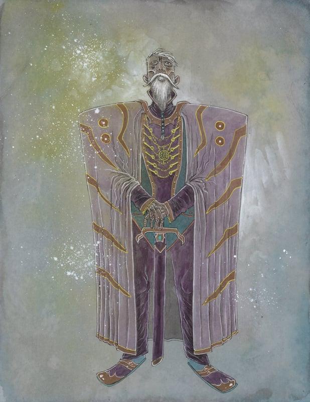 Image of DUNETOBER 15 EMPEROR SHADDAM IV