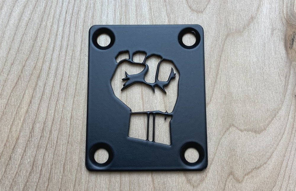 Image of Fist - Industrial Black Finish