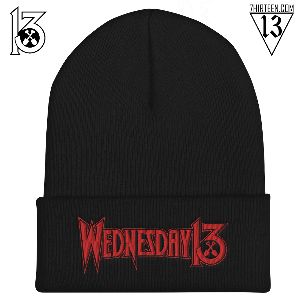 Image of WEDNESDAY 13 BEANIE