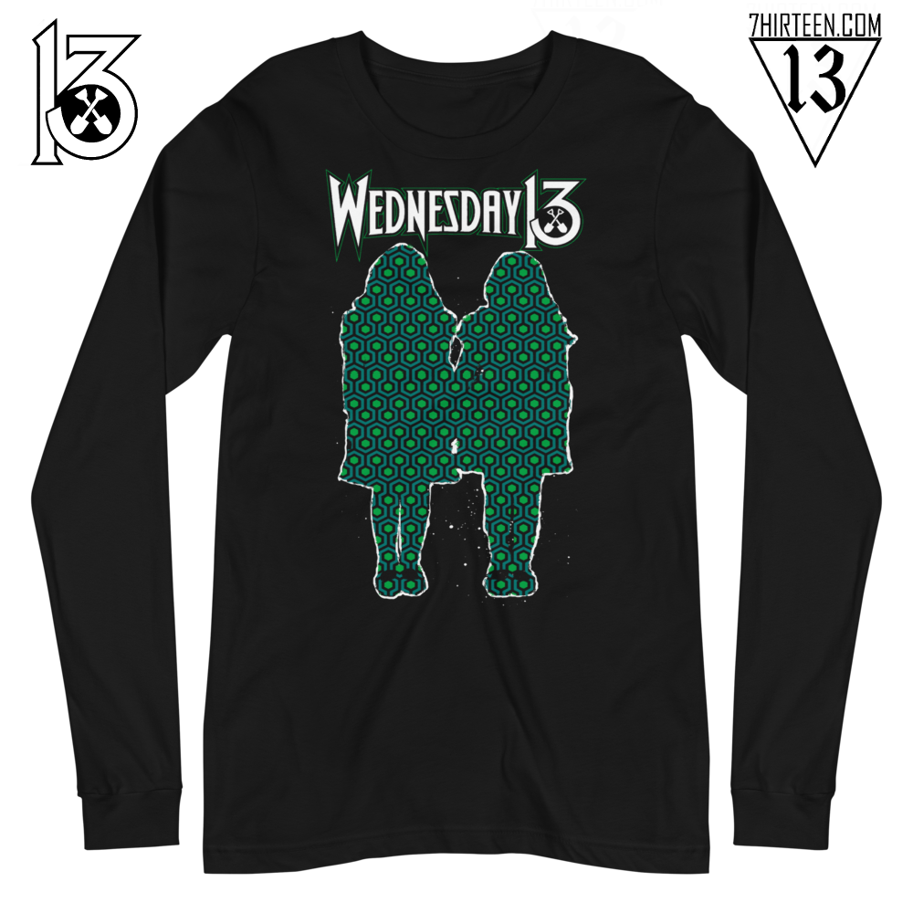 "Image of WEDNESDAY 13 ""ALL WORK AND NO PLAY"" - UNISEX LONGSLEEVE"