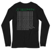 """WEDNESDAY 13 """"ALL WORK AND NO PLAY"""" - UNISEX LONGSLEEVE"""