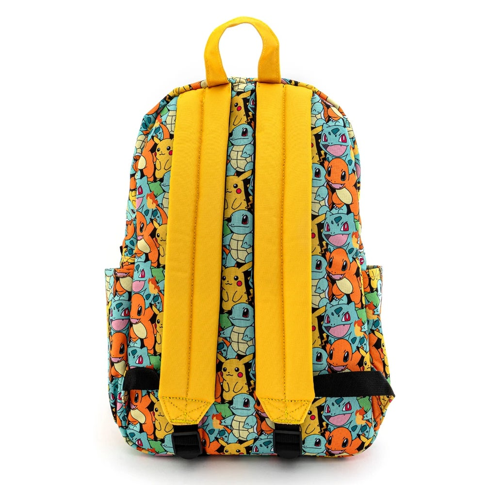 Loungefly X Pokemon Starters AOP Nylon Backpack