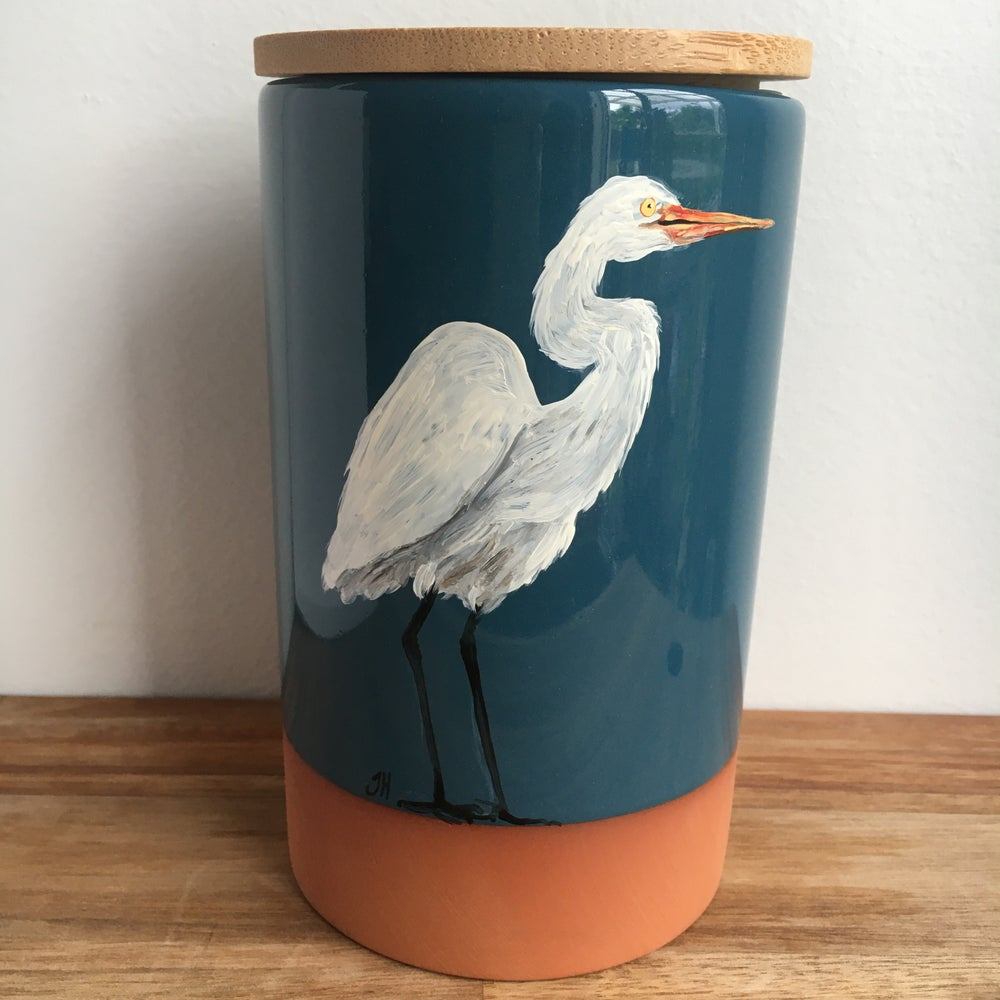 Egret Canister