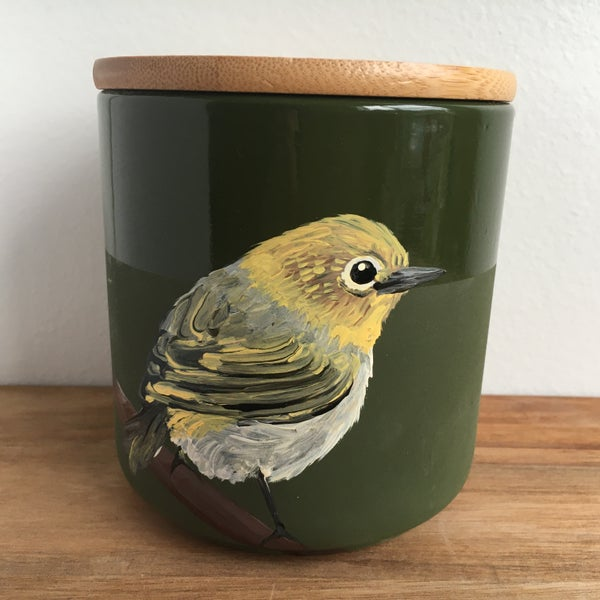 Image of Silvereye Canister