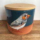 Image 1 of Zebra Finch Canister