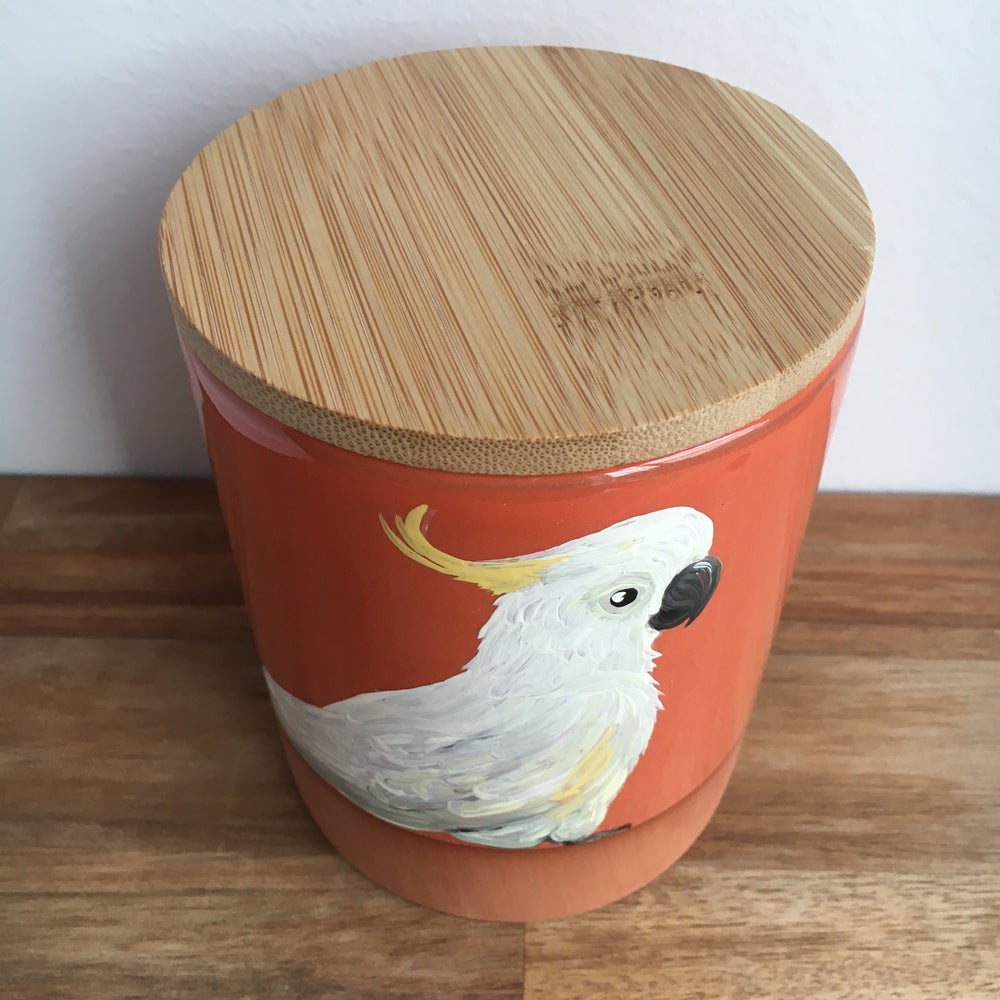 Sulphur Crested Cockatoo Canister