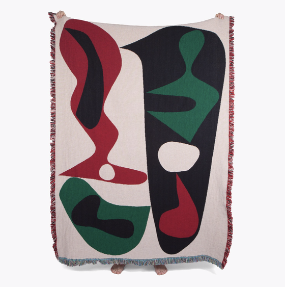 Image of Sakamoto throw by Slowdown Studio