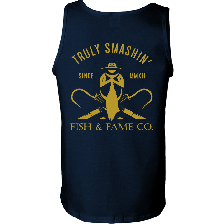 Image of Truly Smashing' Tank Top (navy)