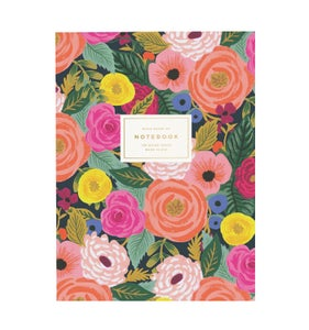Image of CARNET LIGNÉ JULIET ROSE, RIFLE PAPER CO.