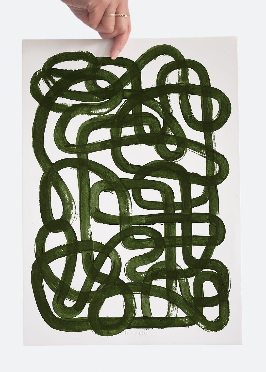 Image of Disarray - Print - Green
