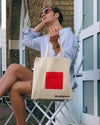 Tote bag with Red Box