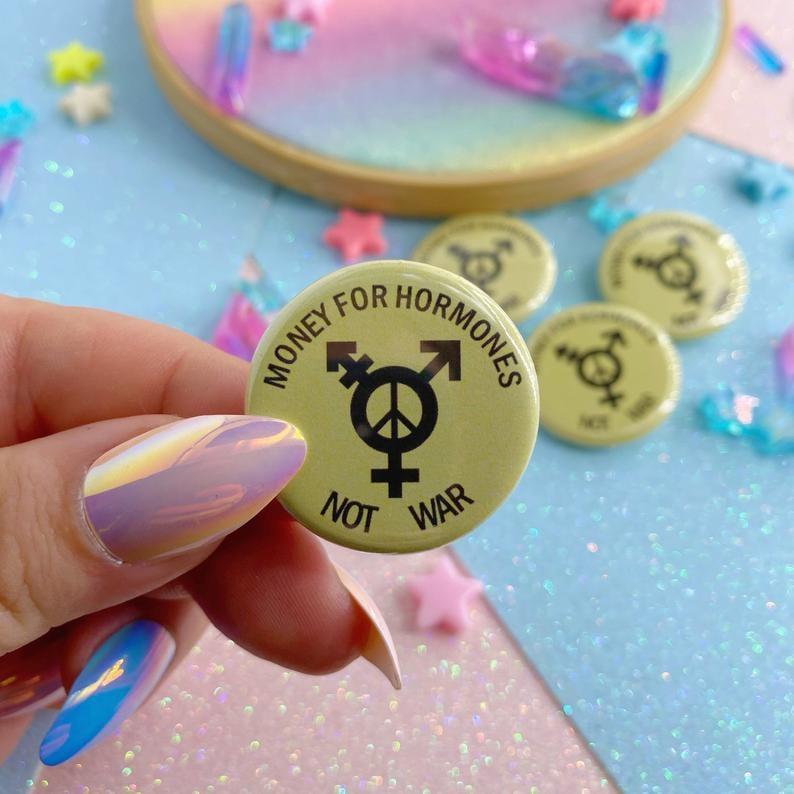 Image of Money For Hormones Not War