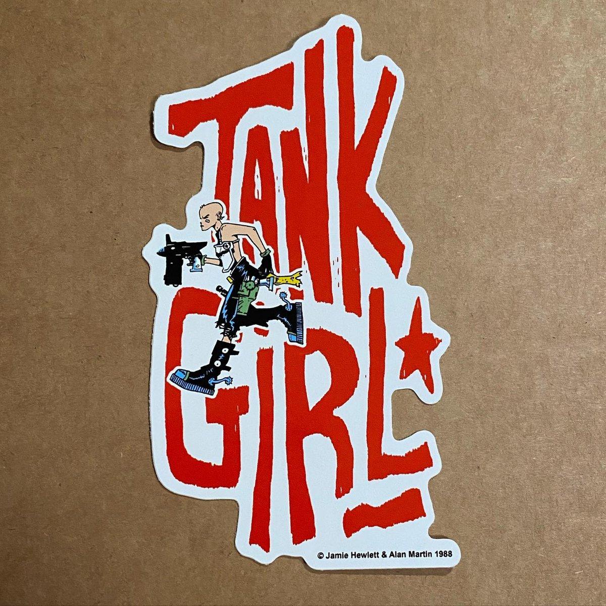 Image of TANK GIRL VINYL STICKER DECAL PACK