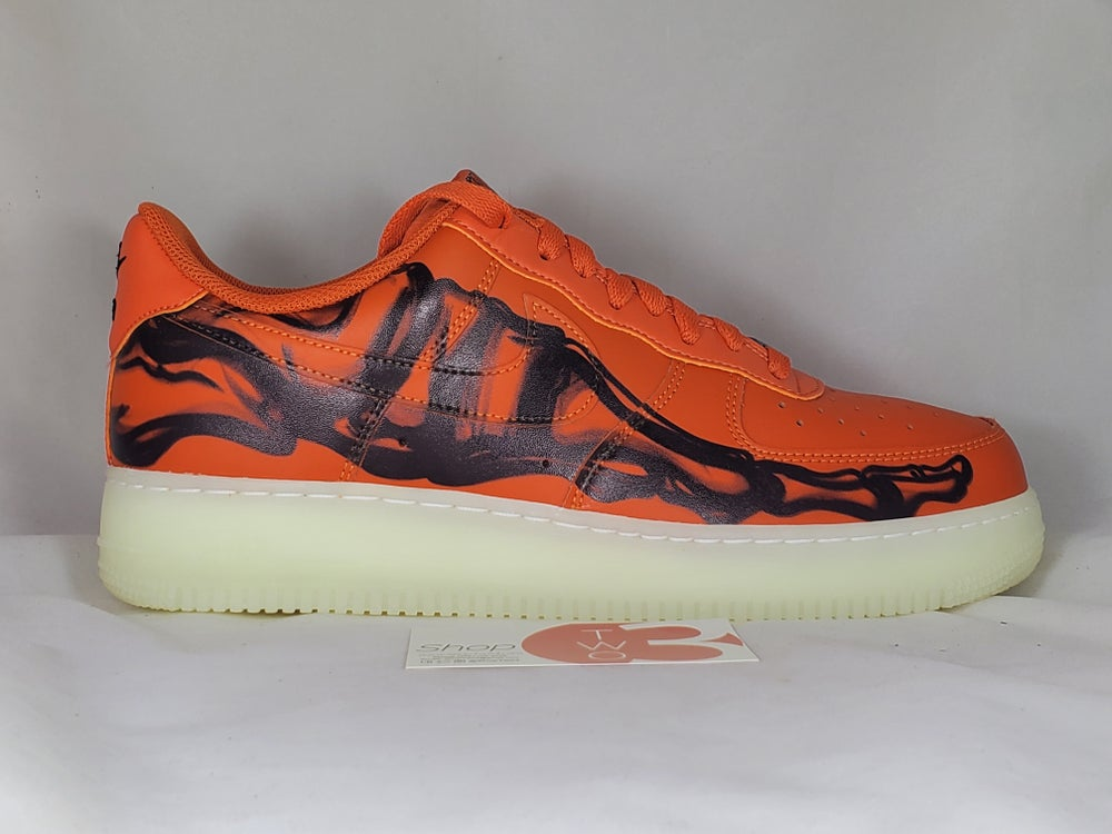 Image of Air Force 1 '07 Skeleton QS Halloween 2020
