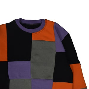 Image of Spooky Patchwork Sweater