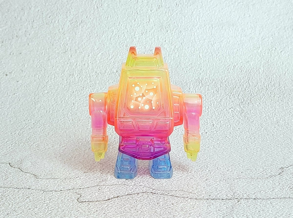 Image of Clear Neon GGML Vendor Bot One Off Custom