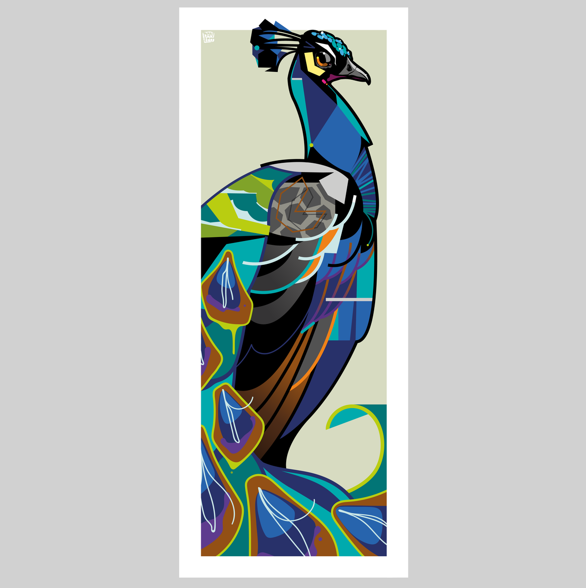 Image of Peacock - Limited Edition - Print