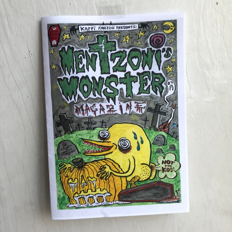 Image of Mentzoni Monster MagaZine Vol.15