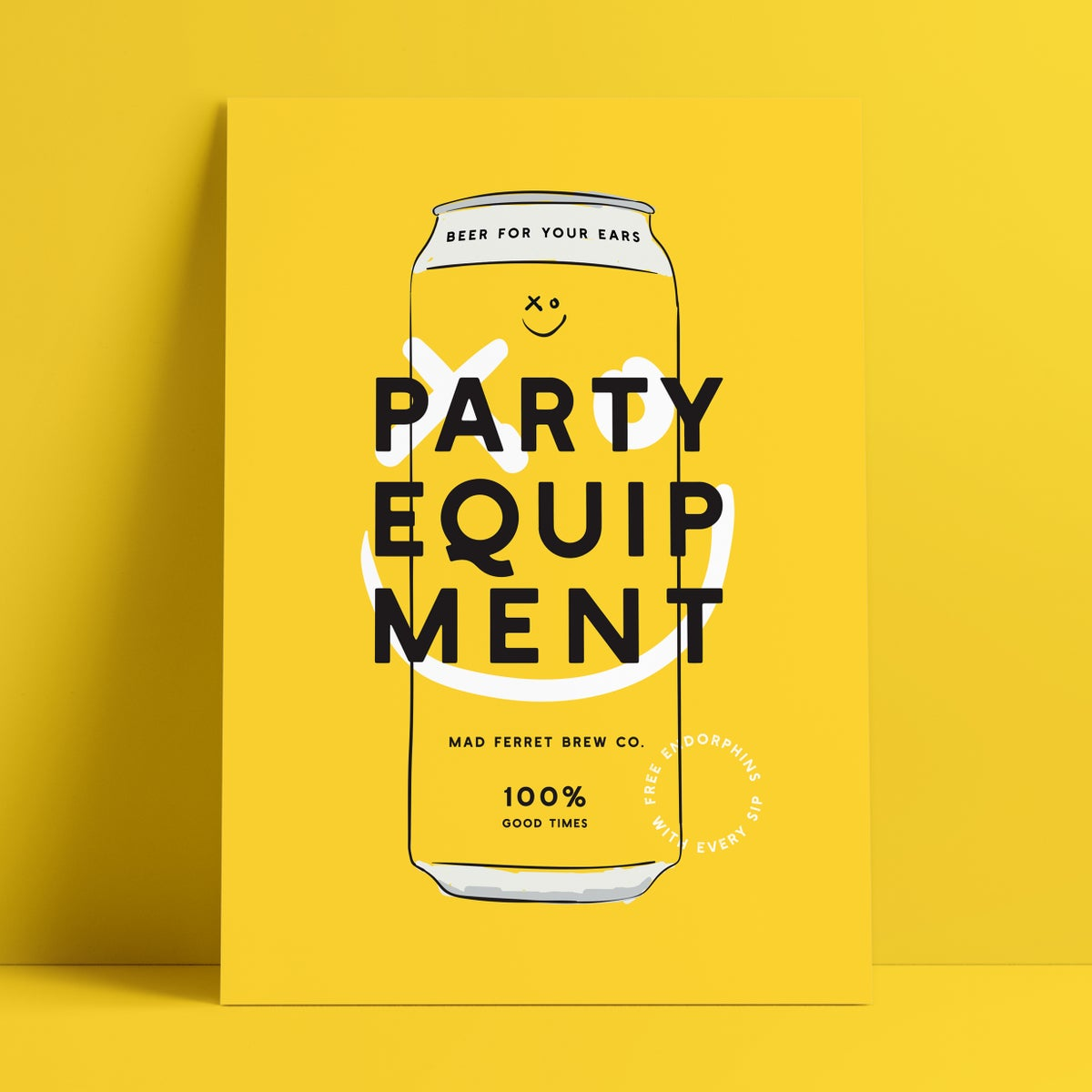 Image of Party Equipment Poster