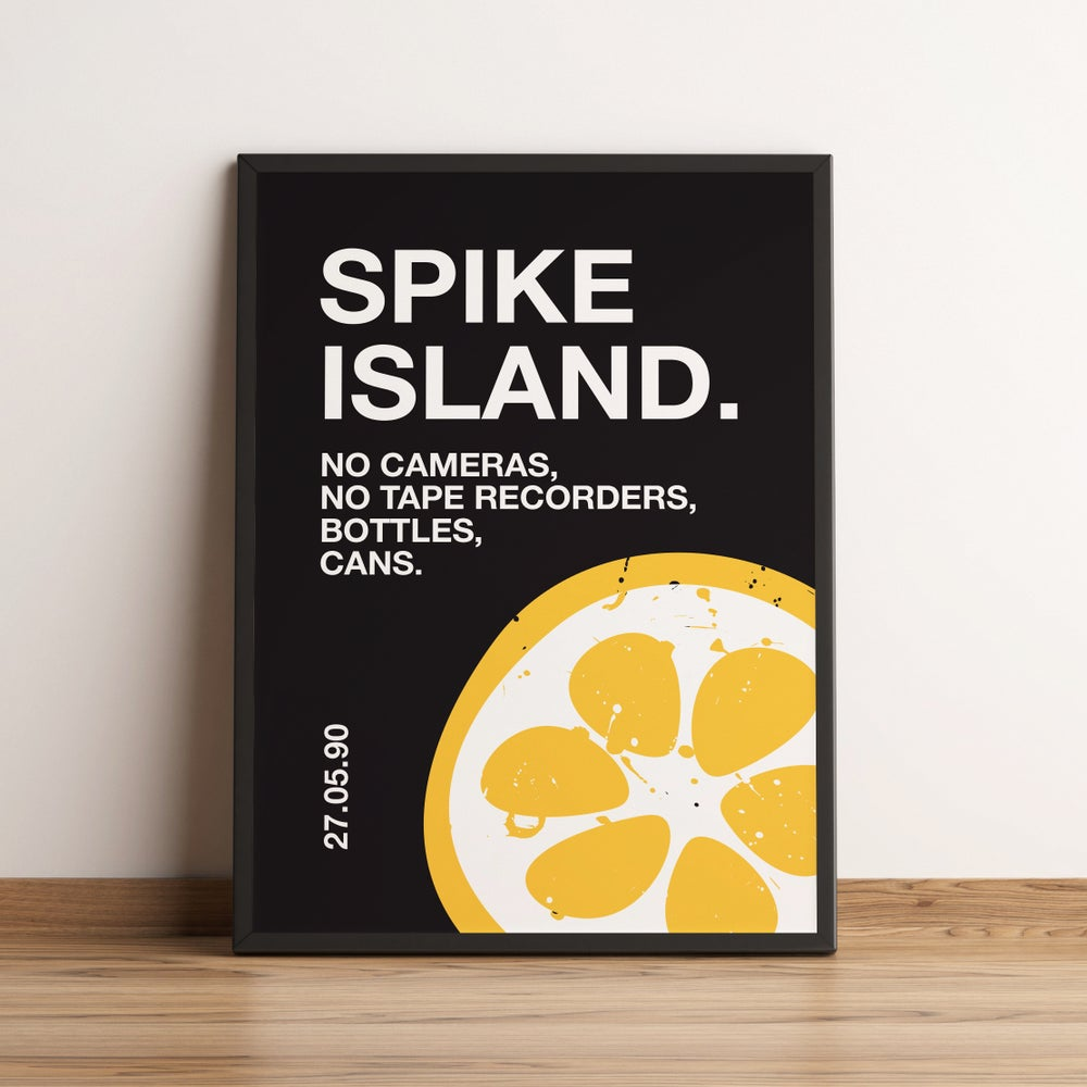 Image of Spike Island Poster