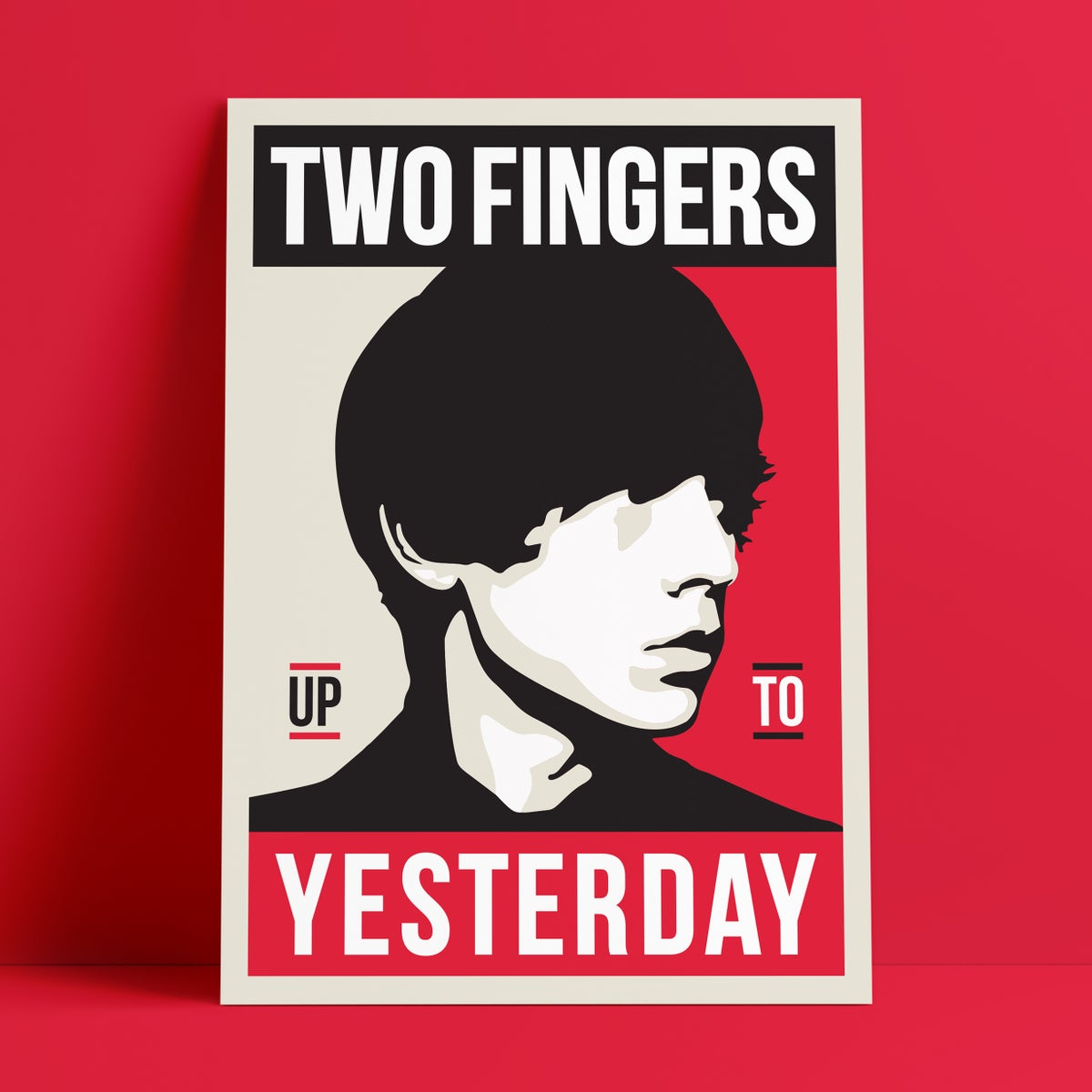 Image of Two Fingers Poster
