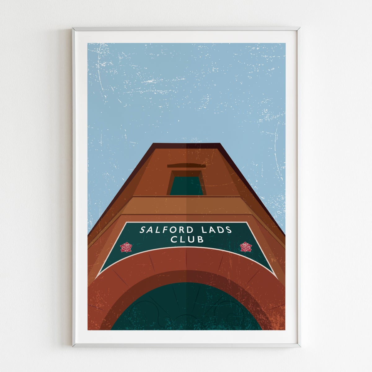 Image of Salford Lads Club Poster