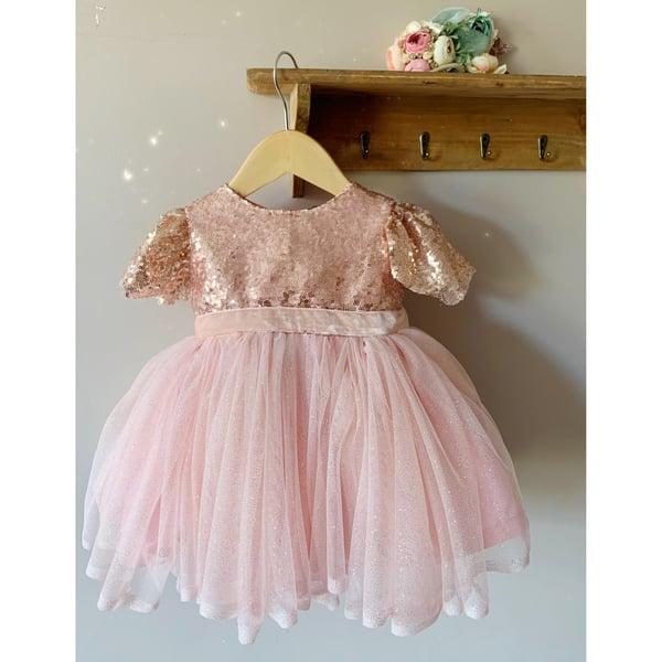 Image of Pink peony dress
