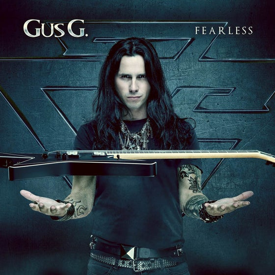 Image of GUS G. - Fearless (Digipak CD)  SIGNED + guitar pick
