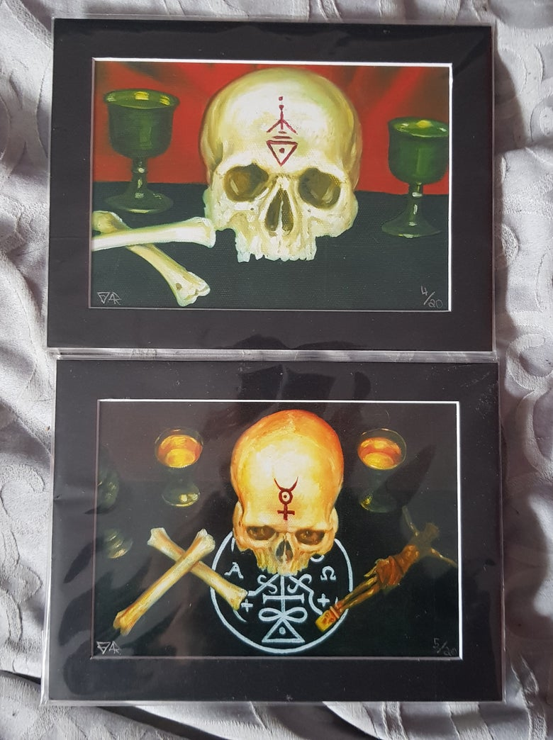 Image of Upon the Altar I & II set of photographic artprints