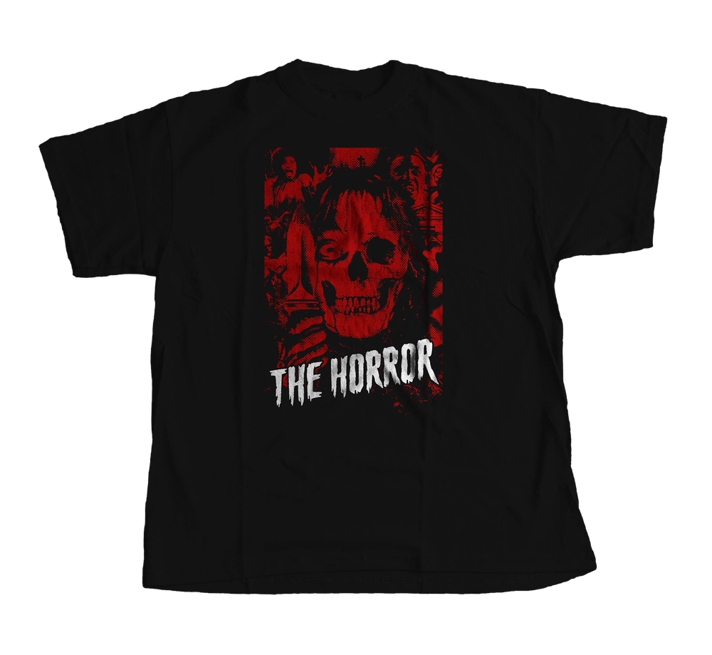 Image of T SHIRT // THE HORROR