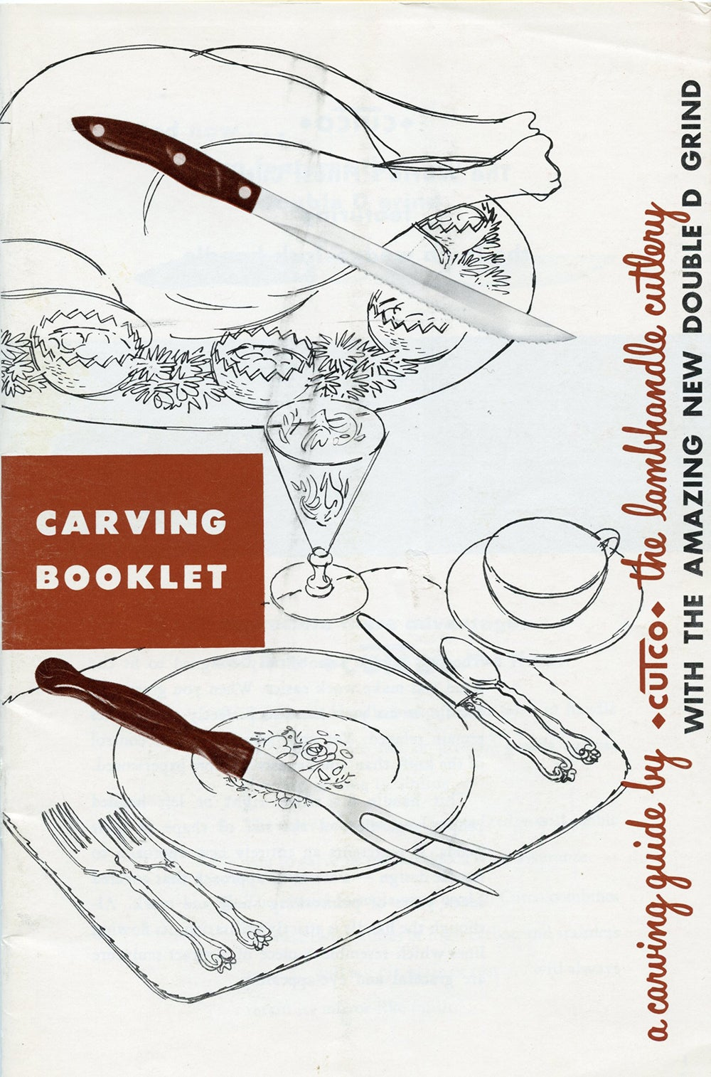 Image of Carving Booklet from Cutco Knives