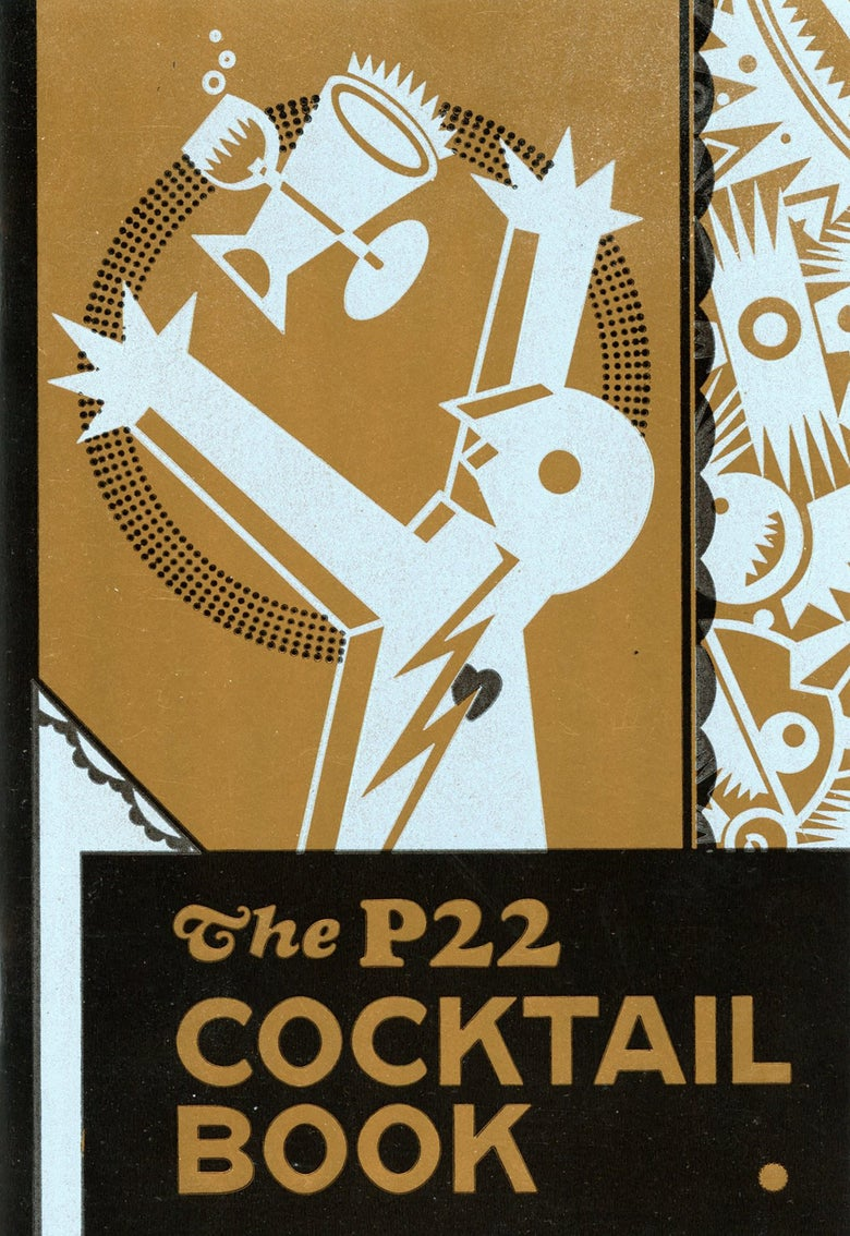 Image of The P22 Cocktail Book