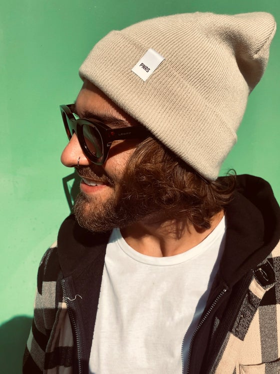 Image of Sand Label Beanie