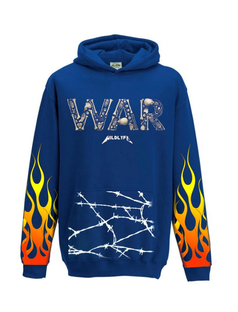 Image of Love is war hoodie