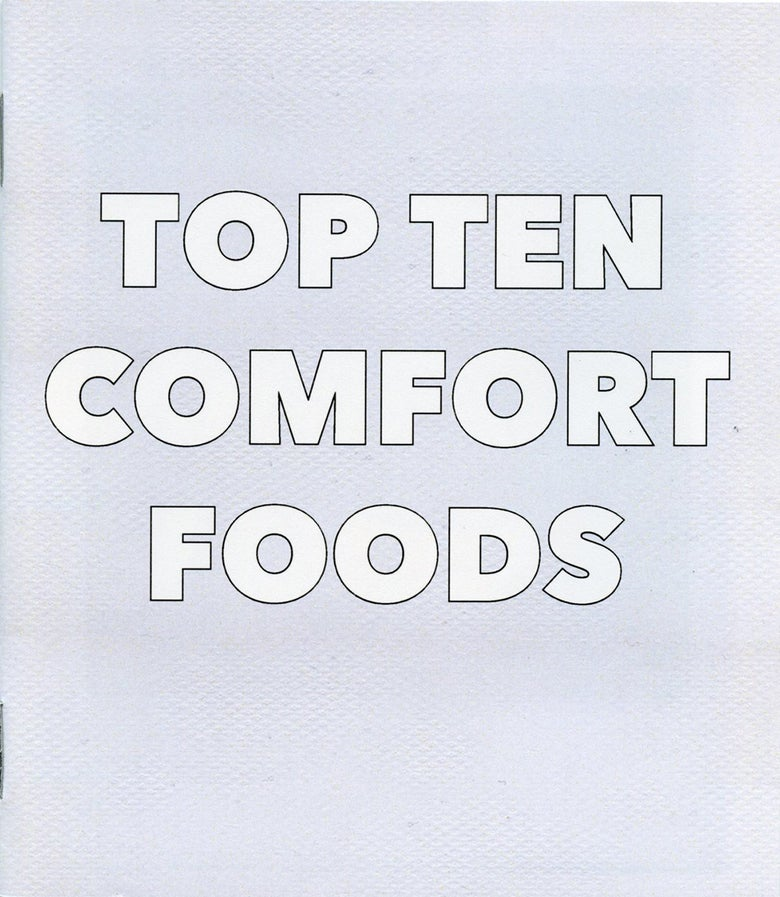 Image of Top Ten Comfort Foods - Dan Varenka