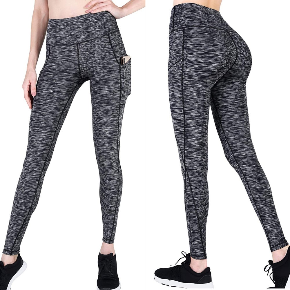 Image of AraBella Running Pants/Leggings (Black & Grey)