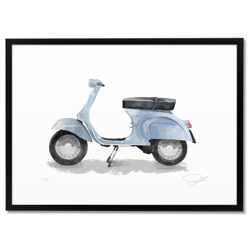 Image of Print: Two-Wheeler