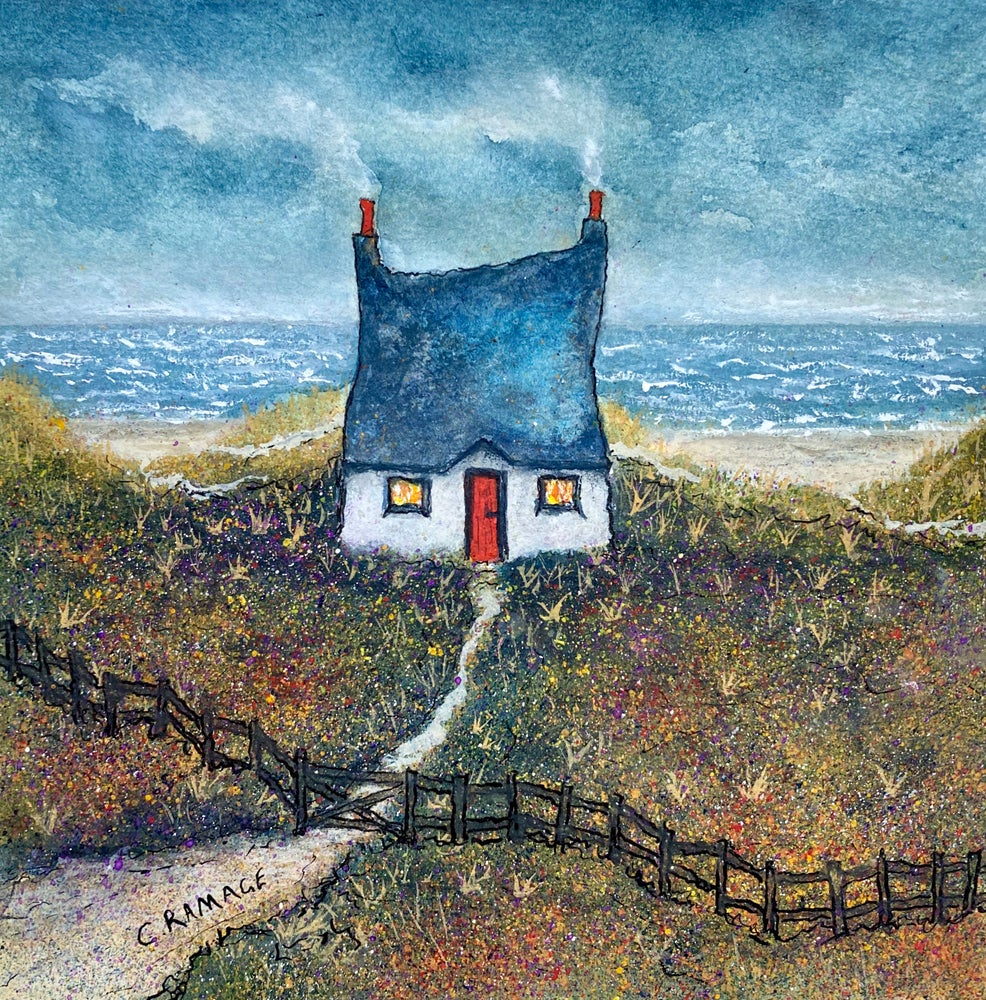 Image of Little Cottage By The Sea (Smoking Chimneys & Crooked Fence)