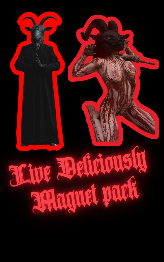 Image of Live Deliciously- two magnet pack