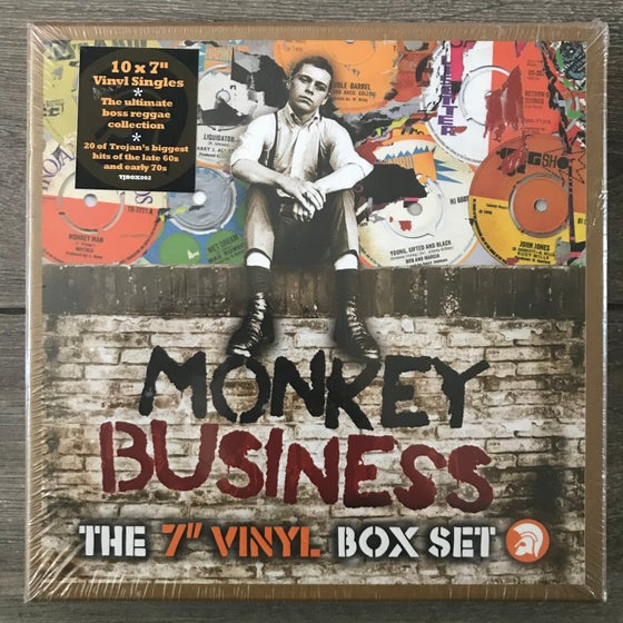 "Image of Trojan Records Monkey Business - The 7"" Vinyl Box Set"