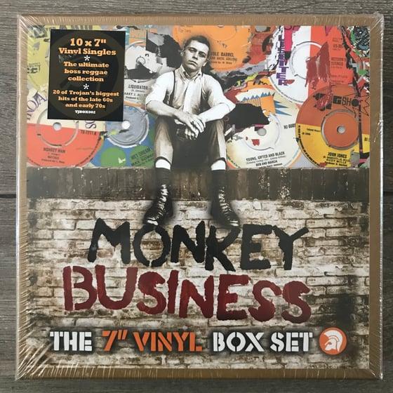 "Image of Trojan Records Monkey Business - The 7"" Vinyl Box Set"