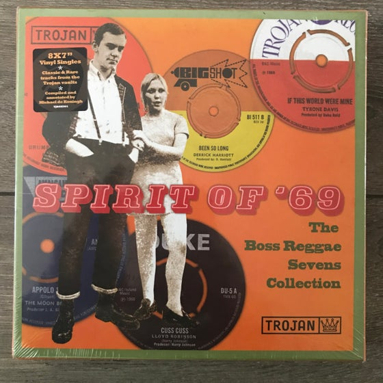 Image of Trojan Records - Spirit of '69 The Boss Reggae Sevens Collection Box Set