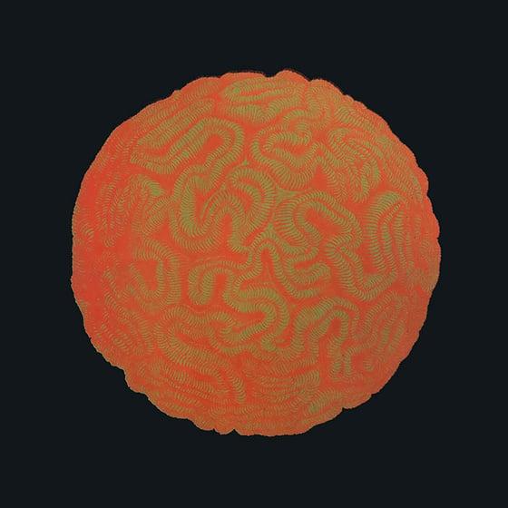Image of Haeckel-Rauschenberg Fluorescent Screen Print