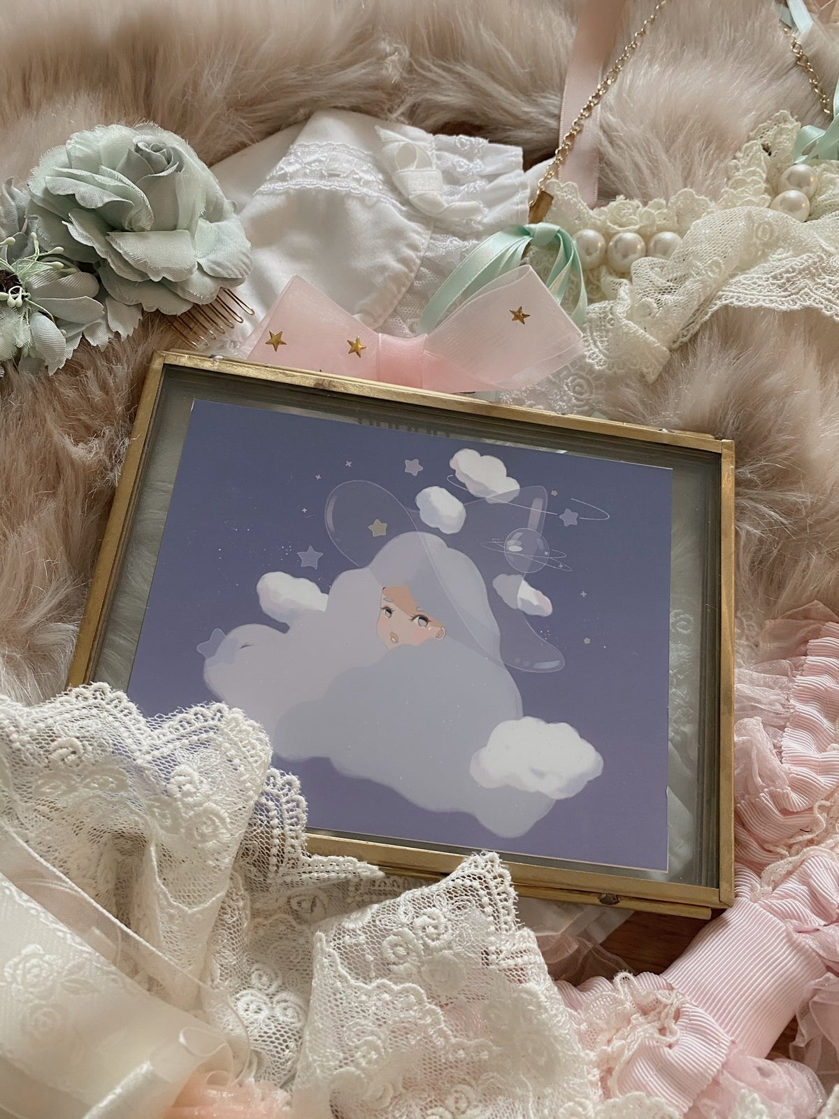 Image of Cloudy Witch Print